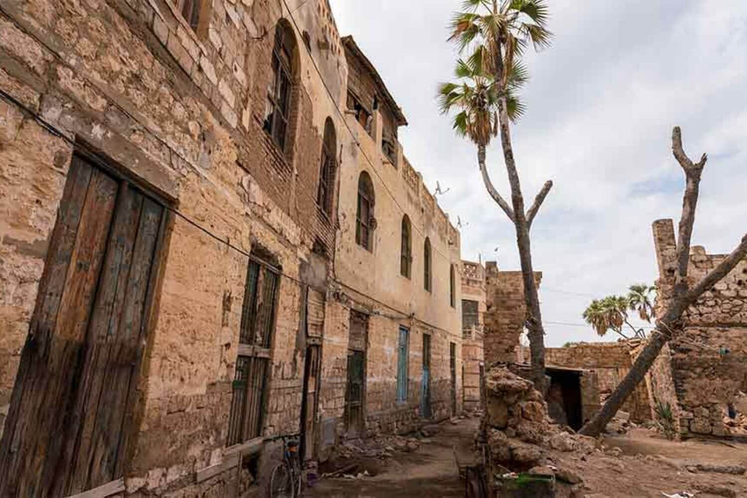 11One of the old buildings Massawa