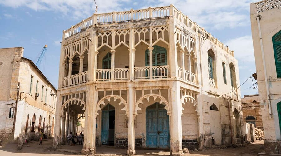 Tour to Eritrea, Downtown Massawa City